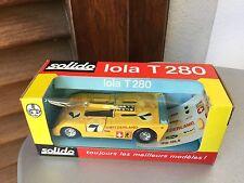 VINTAGE#SOLIDO VINTAGE RARE SUPERCAR LOLA T280 1:43 Scale #NIB