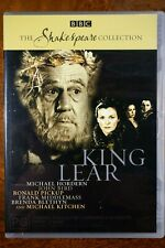 King Lear - The Shakespeare Collection, Michael Hordern  - DVD, As New
