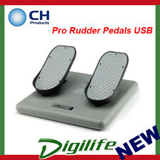 CH Products Pro Rudder Pedals USB For PC & Mac CH-300-111