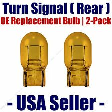 Rear Turn Signal/Blinker Light Bulb 2-pack Fits Listed Nissan Vehicles - 7440NA