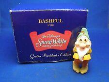 Disney Grolier President's Bashful from Snow White Keepsake Christmas Ornament
