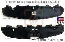 Black Performance Turbo Manifold Blanket for 1998.5 - 2003 Cummins Diesel 5.9