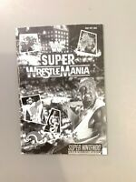 Super Wrestle Mania (SNES Nintendo, Instruction Manual Booklet Book Only)