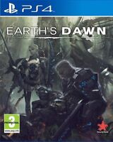 Earth's Dawn (PS4) BRAND NEW SEALED PLAYSTATION 4