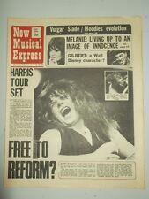 NME #1298 DECEMBER 18 1971 MELANIE SLDE RICHARD HARRIS FREE GROUP BILLY FURY