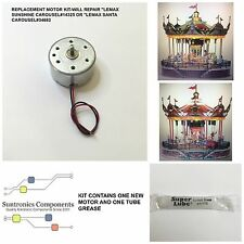 Lemax sunshine Carousel#14325 or Lemax santa Carousel#34682 Replacement motor