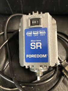 FOREDOM SR MOTOR 1/6HP, 115V, 18,000 Rpm M.SRFLEX SHAFT MOYOR ONLY