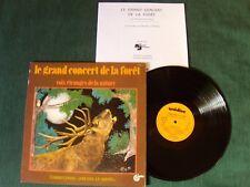 LE GRAND CONCERT DE LA FORET, Voix étranges de la nature LP UNIDISC UD 30 1333