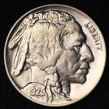 1929 Buffalo Nickel GEM BU FREE SHIPPING E297 AHH
