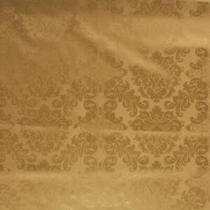 Tessuto Damasco Fiori Raso Taglio 280x280 cm per Cuscini Tovaglie Arredo Casa