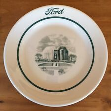 "Vintage Shenango China Ford Rotunda Café 9"" Dinner Plate"