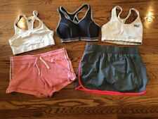 Women's Lot of 3 Sports Bra + Shorts Exercise Running Sz Small Nike~Columbia~
