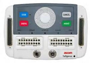 Ascom Telligence Nurse Call Model HC-PSTN2-BED Deluxe Dual Patient Station