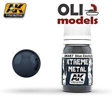 Xtreme Metal  METALLIC BLUE Paint 30ml Bottle - AK Interactive 487