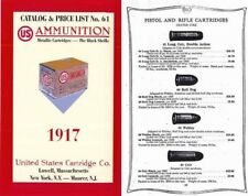 United States Cartridge Co. 1917 Catalog