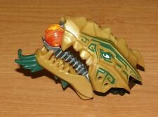 LEGO - Dragon Head (NinjagoThe Golden Dragon) Upper & Lower Jaw - Pearl gold