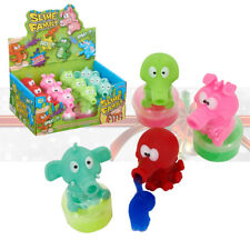 Kids ANIMAL SLIME Novelty Squeezy Party Bag Christmas Gift Stocking Filler Toy