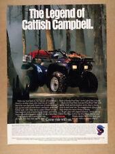 1989 Honda FourTrax 4x4 ATV photo vintage print Ad