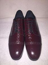 Jimmy Choo 'Diamond Penn' Oxford Shoes Burgundy Mens 8 US 41 Eur MSRP $825