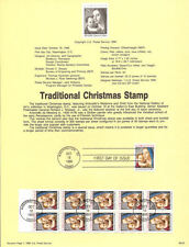 #9023 Madonna & Child Stamp #2514/2514a USPS Souvenir Page