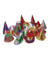 Deluxe Assorted Foil Party Hats Pack 20