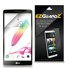 4X EZguardz LCD Screen Protector Skin Cover Shield HD 4X For LG G Stylo (Clear)