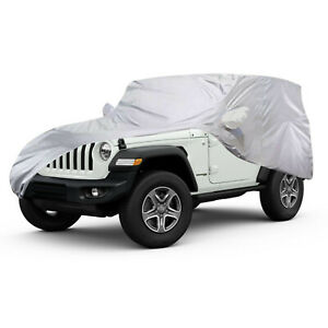 Full Car Cover Vehicle Indoor Breathable UV Dust Protection For Jeep Wrangler