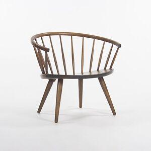 Round Chair By Yngve Ekstrom Arka Vintage Maple Armchair, Made In Sweden