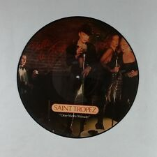 SAINT TROPEZ Belle De Jour FLY3100 AZ CB Picture Disc LP Vinyl VG+ near ++