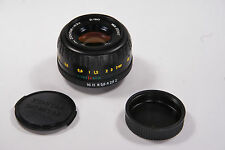 Lens MC ZENITAR-M2s  2/50mm for M42 Screw Mount. Excellent