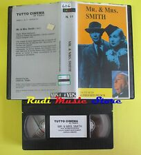 film VHS MR.& MRS. SMITH alfred hitchcock 1991 montgomery lombard (F43) no dvd