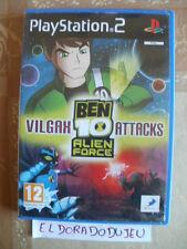 ELDORADODUJEU >>> BEN 10 ALIEN FORCE VILGAX ATTACKS Pour PLAYSTATION 2 PS2 VF