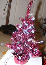 "USB Powered Desktop Christmas Tree 12"" Tall LED Lights"