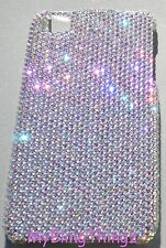 9ss CRYSTAL AB Rhinestone Back Case for iPhone 5 5S made with Swarovski Elements