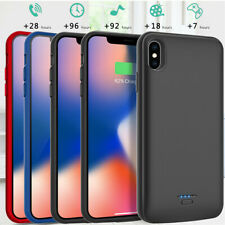 Ultra Slim Battery Charger Case for iPhone 6 6S 7 8 Plus X Power Charging Cover