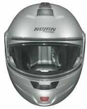 Nolan N91 Evo Classic Flip Front Motorcycle Touring Helmet SILVER X-SMALL XS