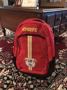 Kansas City Chiefs Super Bowl Champion Backpack Foco