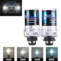 2PCS Car Vehicle D2S 35W 3200lm 4300K White Light HID Xenon Lamps Bulbs Lamps NU