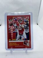 2019 Panini Score Patrick Mahomes Red Foil Parallel Kansas City Chiefs #1