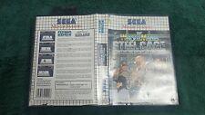 WWE Wrestlemania Steel Cage Challange For Sega Master System