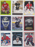 Goalie Insert Parallel Promo Low Numbered Cards NHL Hockey - Choose From List