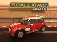 Scalextric Digital BMW Mini Cooper S Works Challenge Pristine Condition C3019