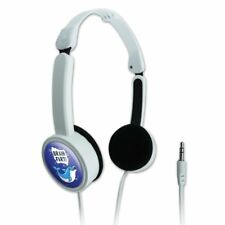 Brain Fart Dolphin Funny Humor Travel Portable On-Ear Foldable Headphones
