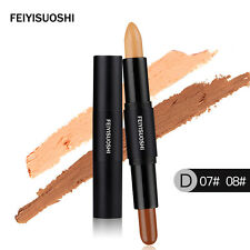 2 in 1 Contour Sticks Concealer Contouring Highlighter Blemish Bronzer 3d Face a D