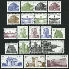 Ireland 537-556, MI 484-503, MNH. Definitives. Buildings, 1982-1983