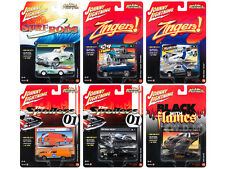 STREET FREAKS 2017 RELEASE 1C SET OF 6 CARS 1/64 BY JOHNNY LIGHTNING JLSF003-C
