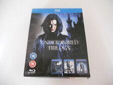 UNDERWORLD TRIOLOGY UK BLU RAY DVD