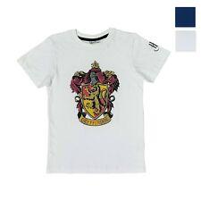 Maglia stampata Harry Potter maglietta maniche corte in cotone bambino 3991
