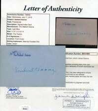 Herbert Hoover Jsa Cert Hand Signed 3x5 Waldorf Card Autograph