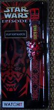 Star Wars Armbanduhr ,  Motiv Darth Maul , NEU